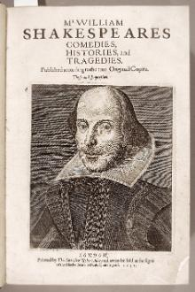 Shakespeare's Comedies, Histories and Tragedies, printed in London, 1632